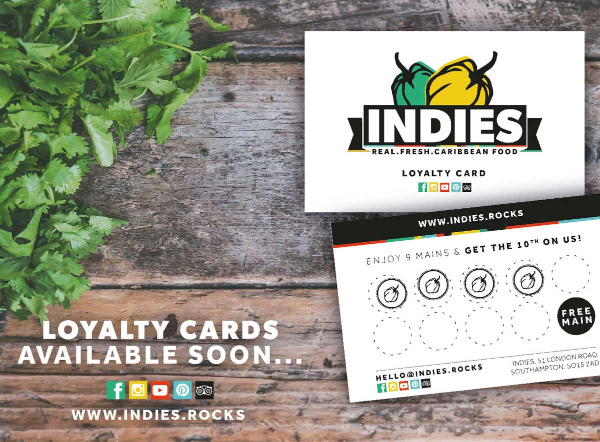 Indies Loyalty Cards